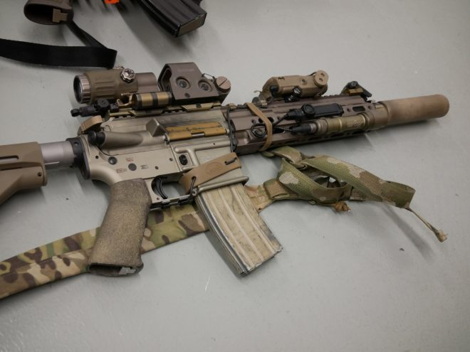 The Retro AR Collection of Enhanced Tactical Arms -The