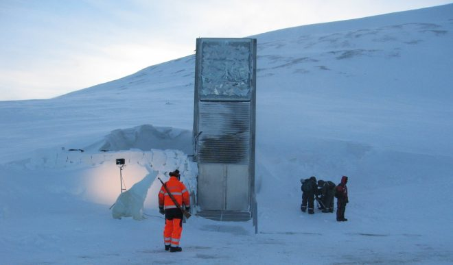 Norway's Svalbard Arctic Seed Vault is Defended by Rifles ...