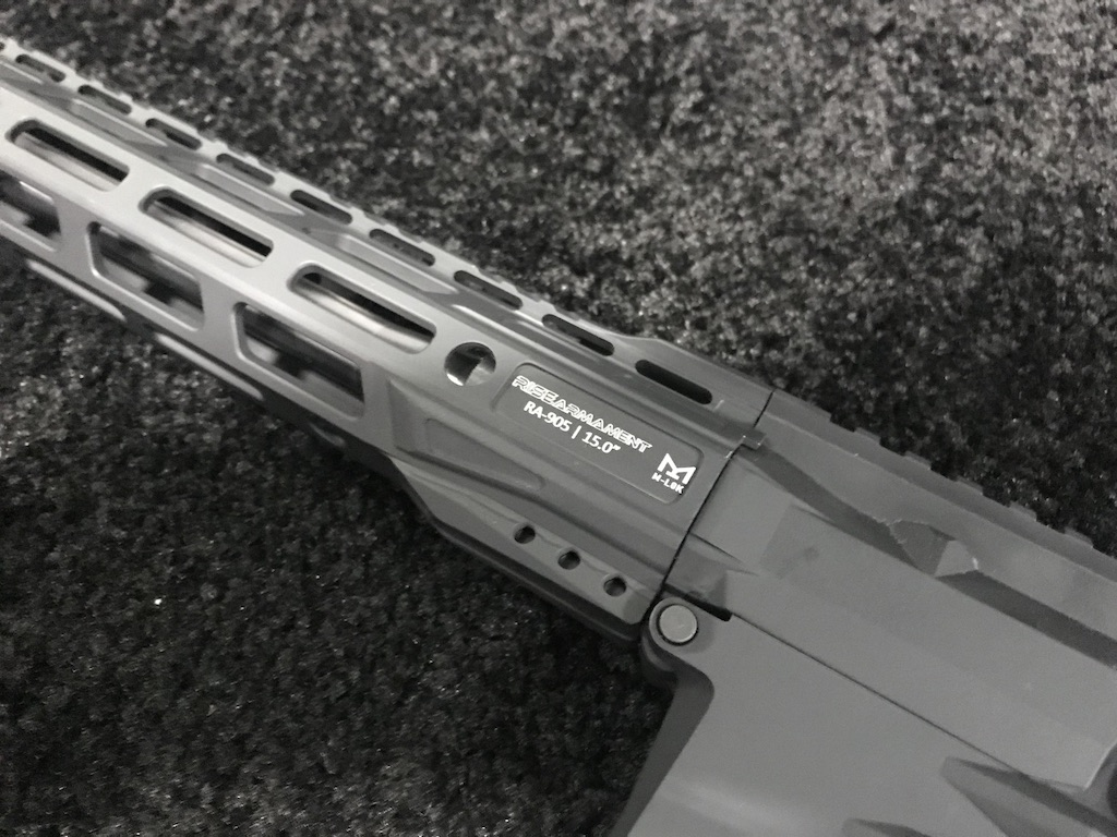 The 6.5 Creedmoor variant uses the same base furniture as the .308 Win version. All are solidly built and very functional.
