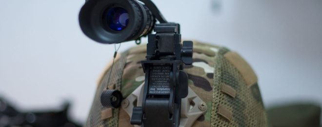 USA Gives Ukraine 2,500 Night Vision Helmet Mounted Monoculars (5)