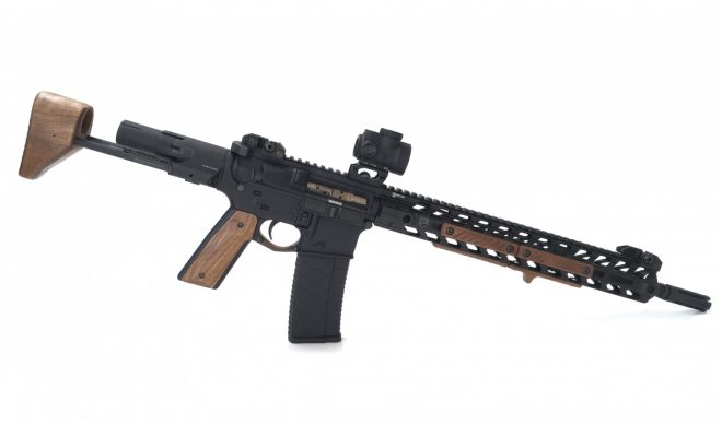Achieve Aesthetic Overmatch With Black Wood Usa S Wooden Ar 15