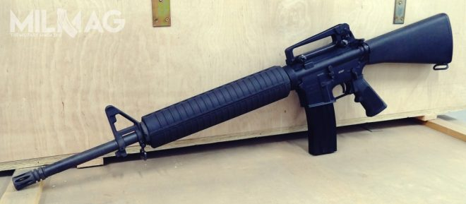 PAC AR-15 side view