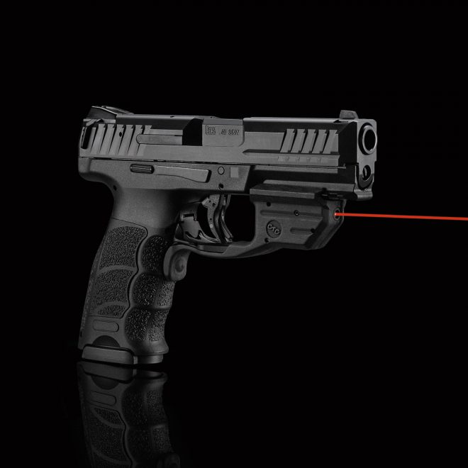 HK VP40 with red Laserguard (Crimson Trace)