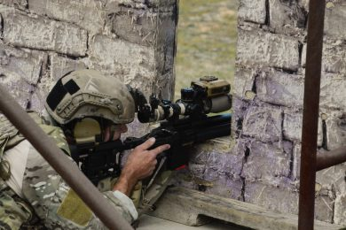 Participants from the U.S. military are from USASOC units and must be graduates of their service's sniper course.
