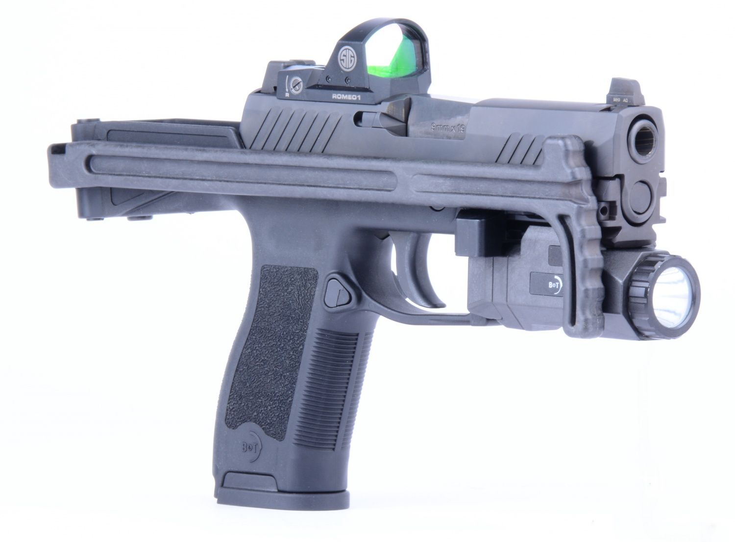 B&T USW320 Universal Service Weapon Upgrade for SIG Sauer P320 -The