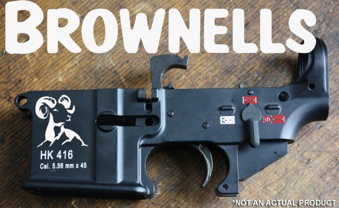 BREAKING] Brownells Acquiring And Importing HK 416/417 Parts
