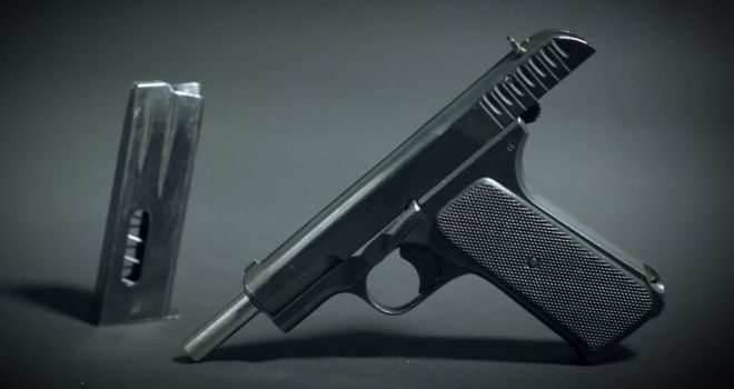 Experimental Tokarev Pistol with a Double Stack Magazine (2)