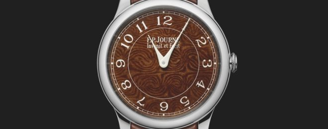 F.P. Journe Watches With Dials Made of Holland & Holland Damascus Steel Shotgun Barrels (1)