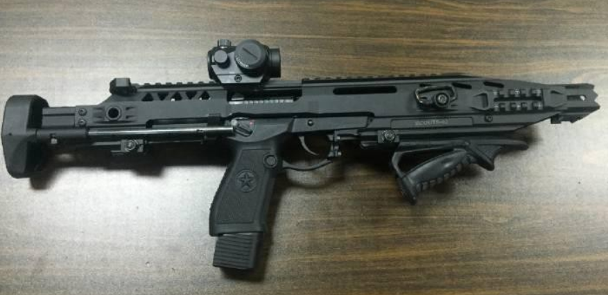 Guest Post: Chinese Police Force's QSZ-92 Pistol Carbine Conversion