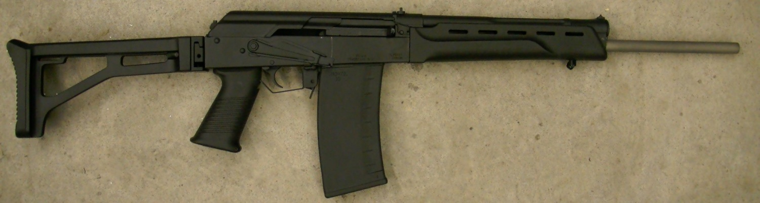Tromix Protoype Saiga-410 Converted to a Rifle Chambered in .444 Marlin (3)