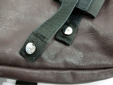 The secret to the holster retention is in the sturdy magnetic straps.