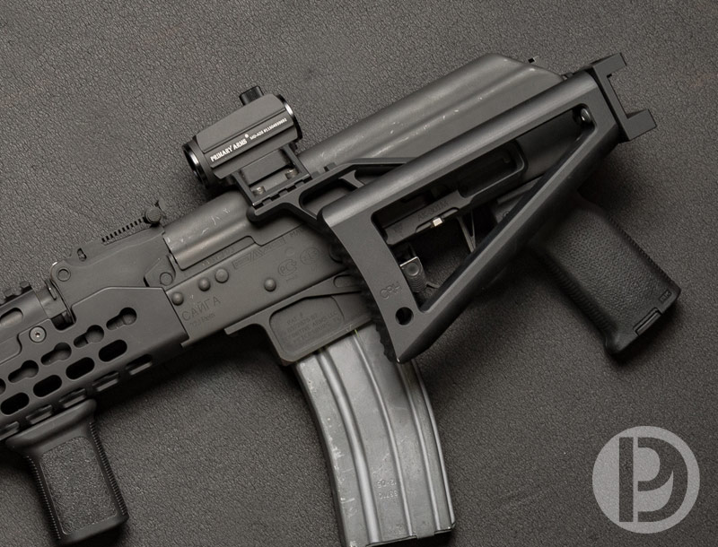 AK Folding Stock Hinge and Triangle Stock by Circle 10 AK -The