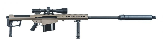US Army Orders More Barrett M107s -The Firearm Blog