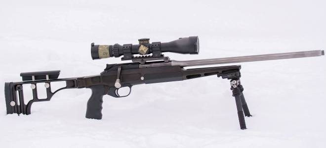 Blaser R8 Rifle Chassis Made by Russian Belyj Veter Stocks (1)