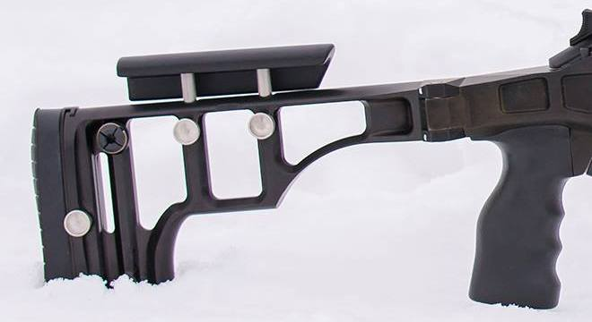 Blaser R8 Rifle Chassis Made by Russian Belyj Veter Stocks (2)