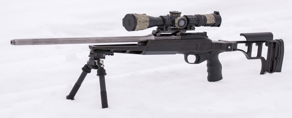 Blaser R8 Rifle Chassis Made by Russian Belyj Veter Stocks (3)