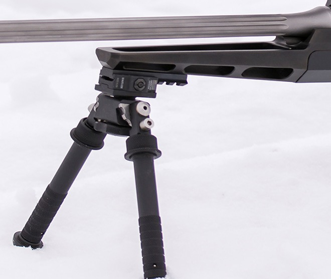 Blaser R8 Rifle Chassis Made by Russian Belyj Veter Stocks (4)