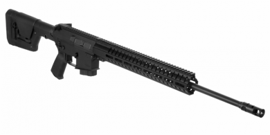 CMMG's MkW ANVIL is a mid-sized AR rifle platform that is uniquely engineered to easily handle calibers with large casing diameters and significantly high bolt thrust.