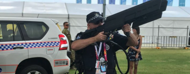 QPS with a drone killer