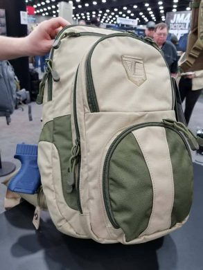 """The Smokescreen G2 backpack has a non-tactical exterior to prevent anyone from """"knowing"""" that the person carrying the backpack is also concealing a firearm."""