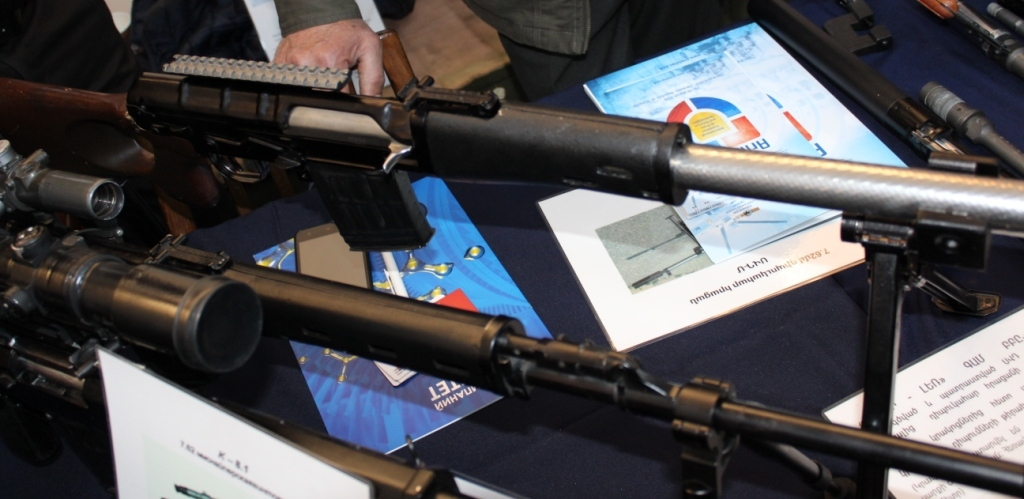 Firearms and Accessories Seen at ArmHiTec 2018 Exhibition (12)