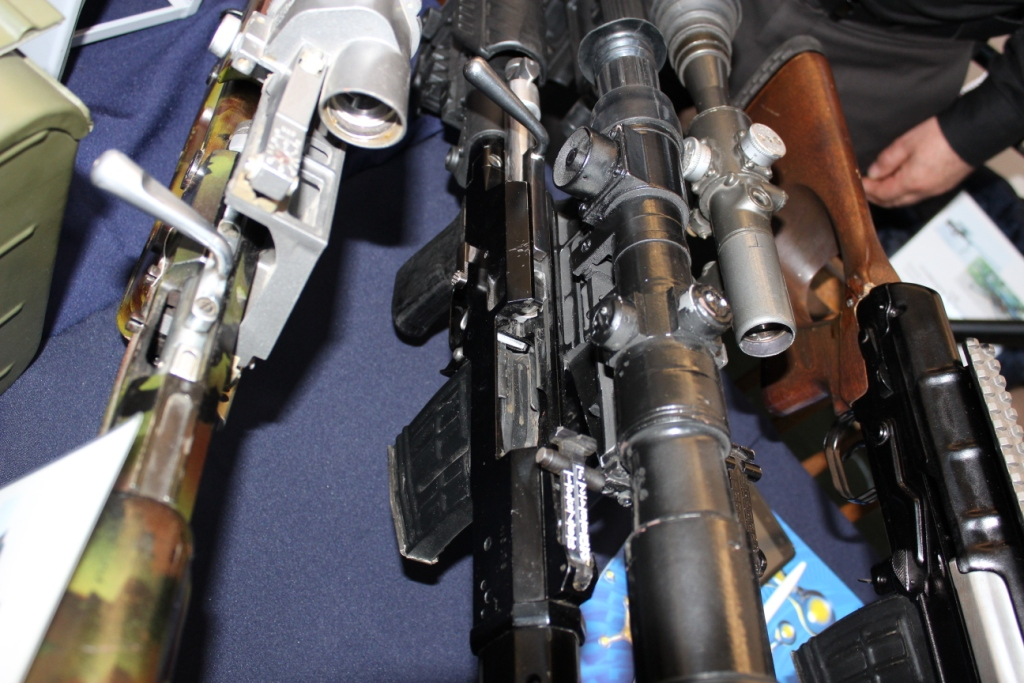 Firearms and Accessories Seen at ArmHiTec 2018 Exhibition (13)