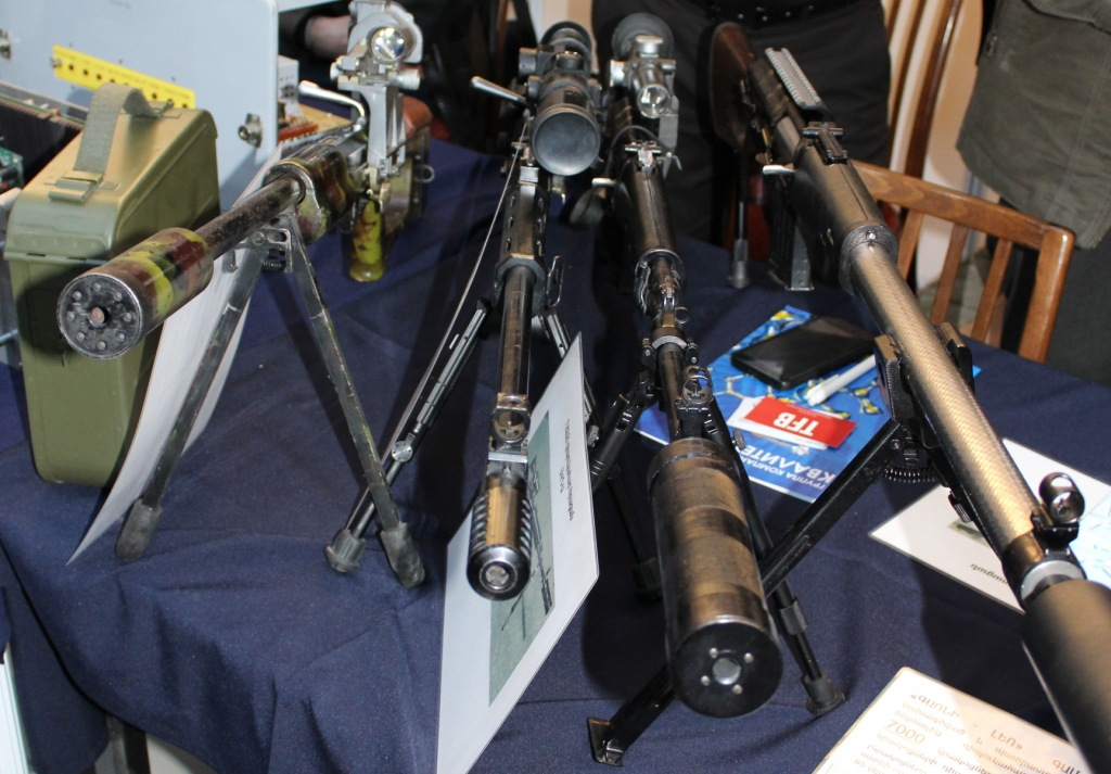 Firearms and Accessories Seen at ArmHiTec 2018 Exhibition (17)