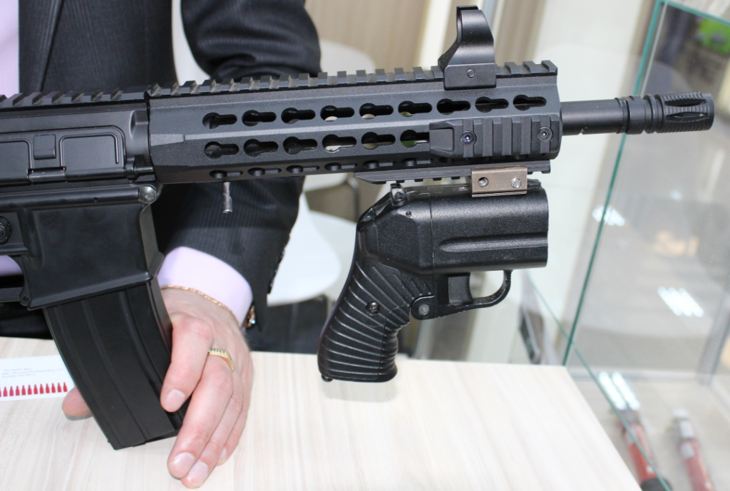 Firearms and Accessories Seen at ArmHiTec 2018 Exhibition (19)