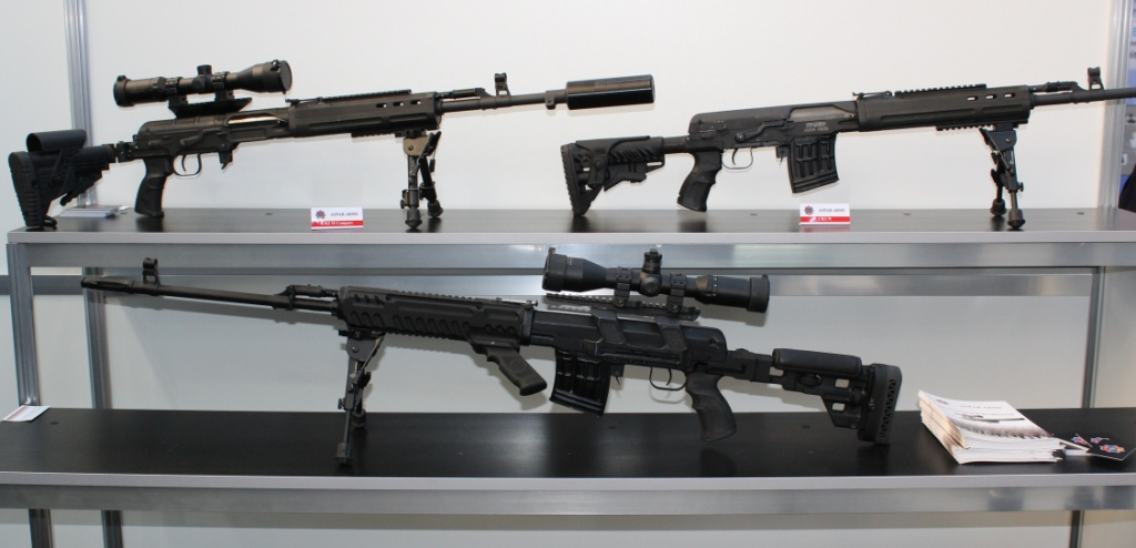 Firearms and Accessories Seen at ArmHiTec 2018 Exhibition (7)