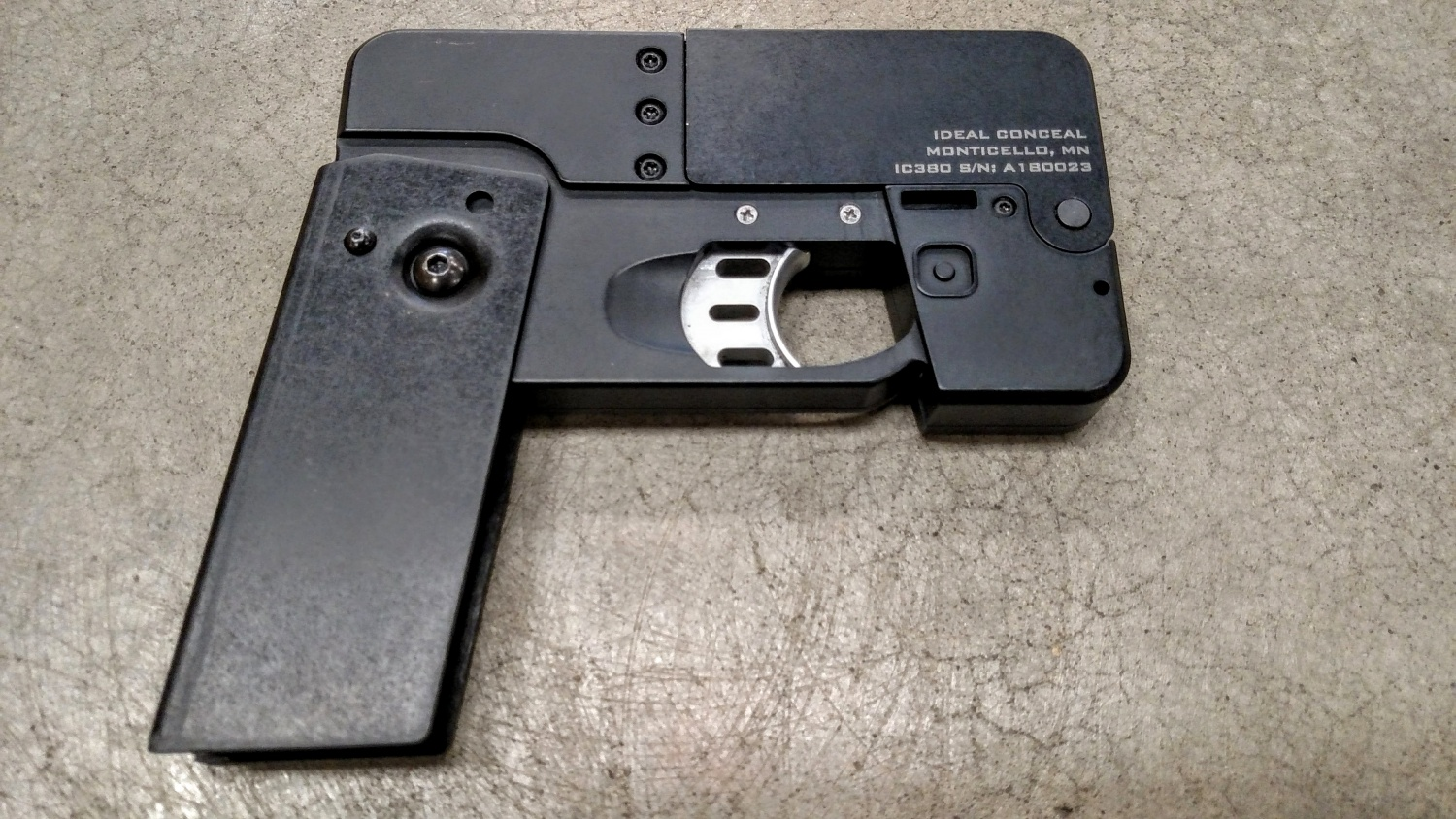 TFB Review: World's 1st Production Ideal Conceal IC380The Firearm Blog