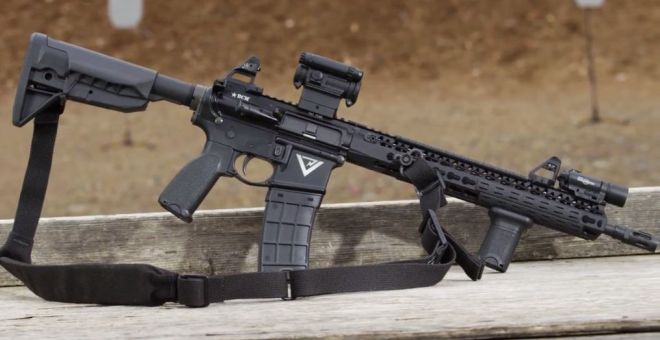 Larry Vickers Shows a Prototype BCM Upper Receiver (1)