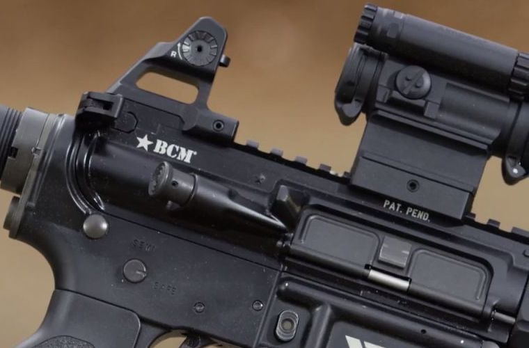 Larry Vickers Shows a Prototype BCM Upper Receiver (2)