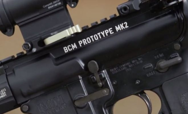 Larry Vickers Shows a Prototype BCM Upper Receiver (4)