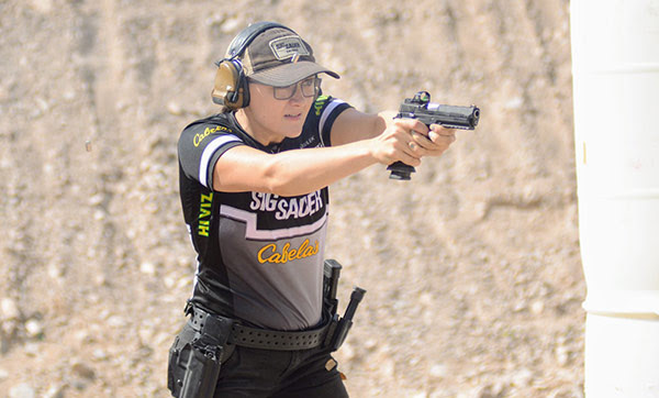 SIG SAUER, Inc. congratulates Team SIG member Lena Miculek on placing first in the ladies category of the Open Division at the 2018 SIG SAUER USPSA Multi-Gun Nationals held April 18th through April 22nd.