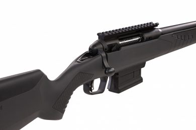 Other key features of the 110 Wolverine include a Magpul AICS magazine and 18-inch carbon steel heavy barrel complete with a ported muzzle brake and 11/16-24 threading.