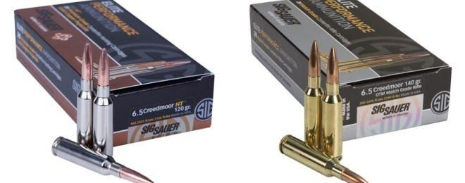 SIG Sauer Adds 6.5mm Creedmoor to Their Elite Performance Line of Ammunition