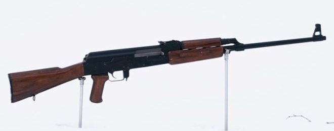 Soviet Experimental AK-Based Marksman Rifle (7)