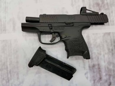 The first 5 PPS RMSc pistols were sold at the USCCAE in Louisville, KY and shipments are expected to arrive to dealers beginning the last week of April, 2018.