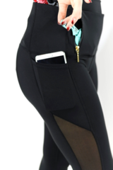 Concealed carry leggings allow for an active lifestyle without sacrificing personal protection.