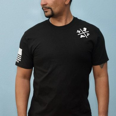 The placement and size of the pattern on the inside of the shirt prevent the firearm from imprinting through the clothing.