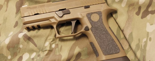 Danish Armed Forces adopt Sig P320 X-Carry