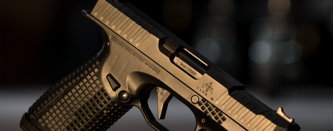 STRYK B pistol. Picture courtesy of Arsenal Firearms