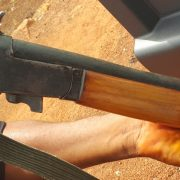 Locally made shotgun - Nigeria