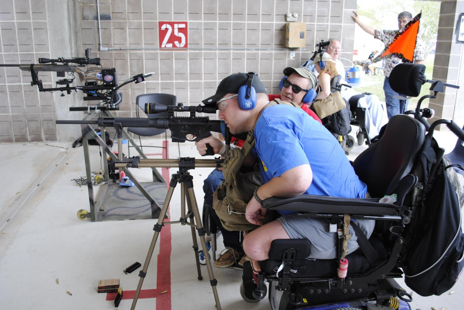 (HAVA) to help the healing and re-integration of disabled veterans and injured active military back into normal American life through participation in outdoor events.