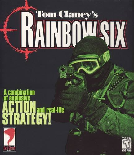 Rainbow Six game cover