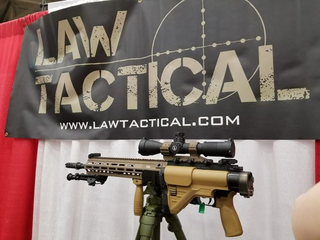 NRA 2018] Law Tactical's CSASS Folding Stock Adapter and