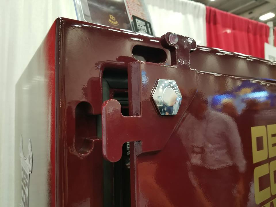 The anti-pry T-Lock system is one of many unique features on Def Con Safes.