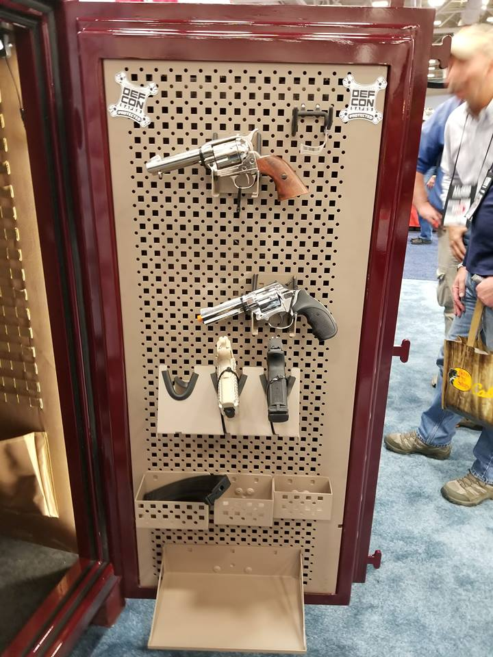 The Adaptive Peg Board creates a variety of options for any firearm enthusiast.