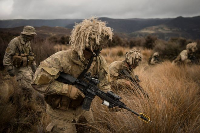 NZ troops with LMT MARSL