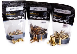 Sig Sauer launches new handloaders component line.